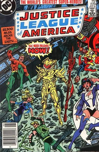 JUSTICE LEAGUE OF AMERICA #229 (NEWSSTAND)