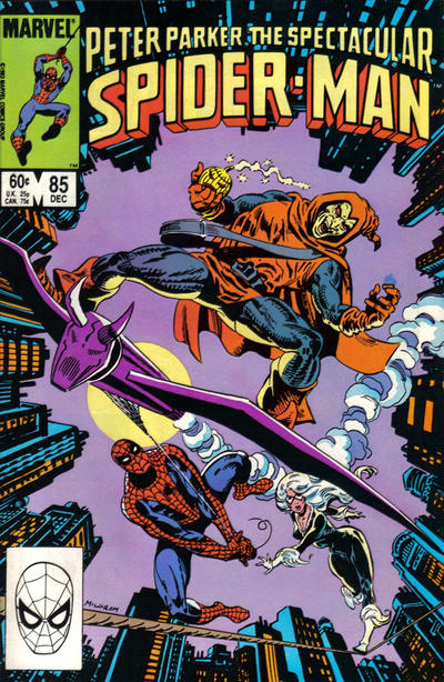 SPECTACULAR SPIDER MAN #85