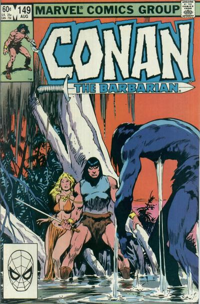 CONAN THE BARBARIAN #149 (NEWSSTAND)