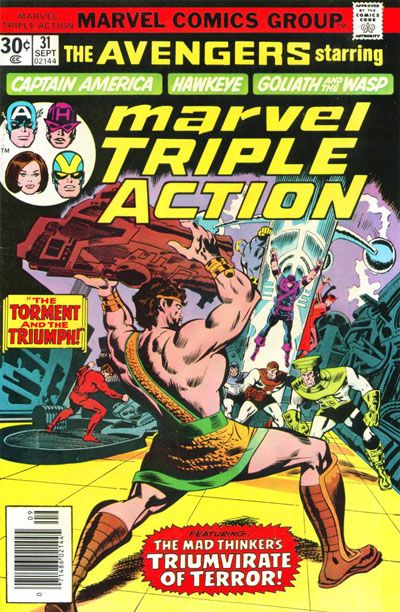 MARVEL TRIPLE ACTION #31