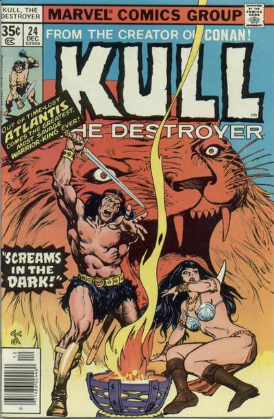 KULL THE DESTROYER 24