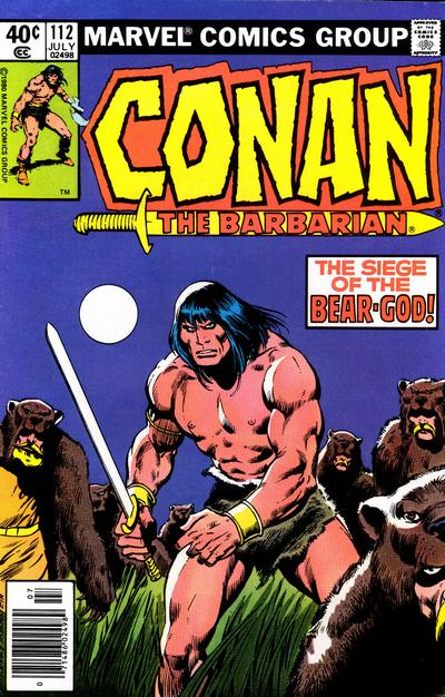 CONAN THE BARBARIAN #112 (NEWSSTAND)