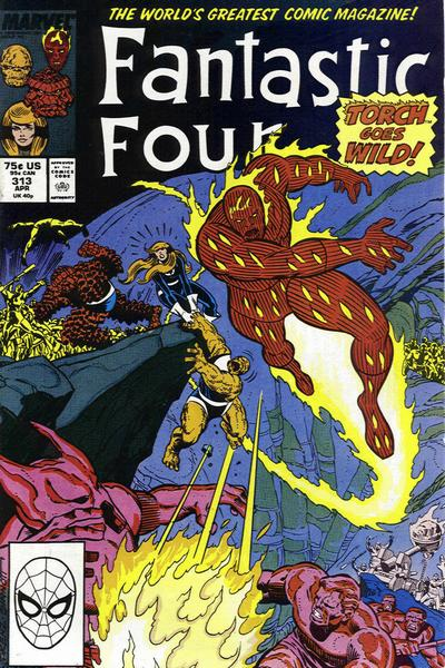FANTASTIC FOUR 313 (DIRECT)