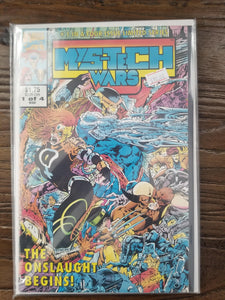 MYS-TECH WARS 1-4 FULL LIMITED SERIES