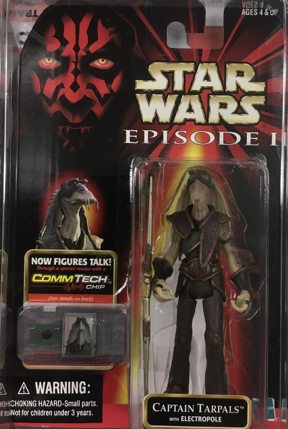 STAR WARS FIGURE / CAPTAIN TARPALS