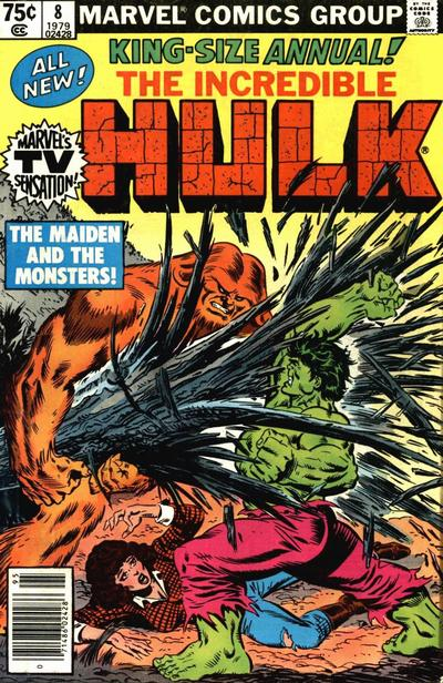 INCREDIBLE HULK ANNUAL 8 (NEWSSTAND)