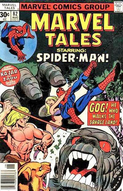 MARVEL TALES #82 (30 CENT) (1966)