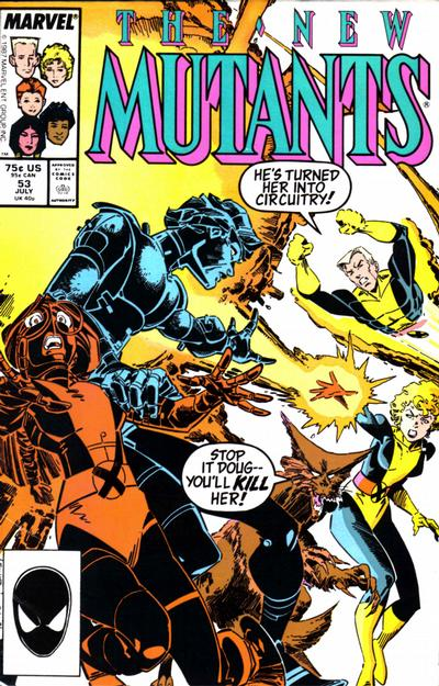 NEW MUTANTS #53 (DIRECT)