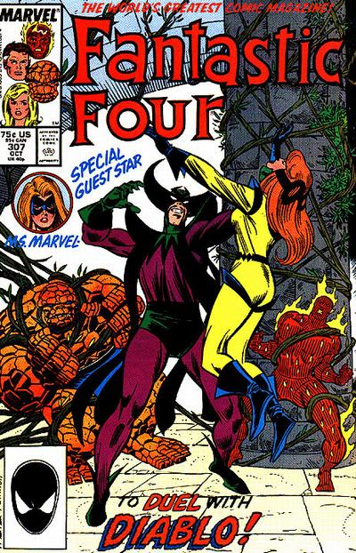 FANTASTIC FOUR 307 (DIRECT)