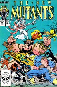 NEW MUTANTS #65 (DIRECT)