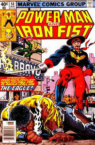 POWER MAN AND IRON FIST #58 (NEWSSTAND)