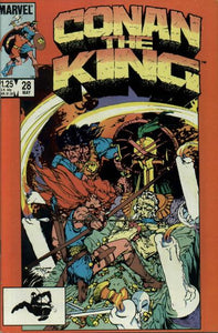 CONAN THE KING #28 (DIRECT)