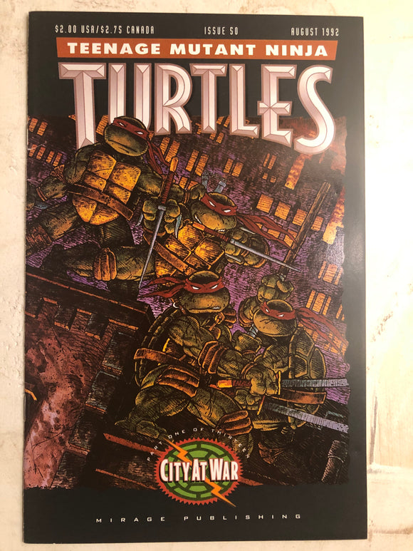 TEENAGE MUTANT NINJA TURTLES (1992) #50