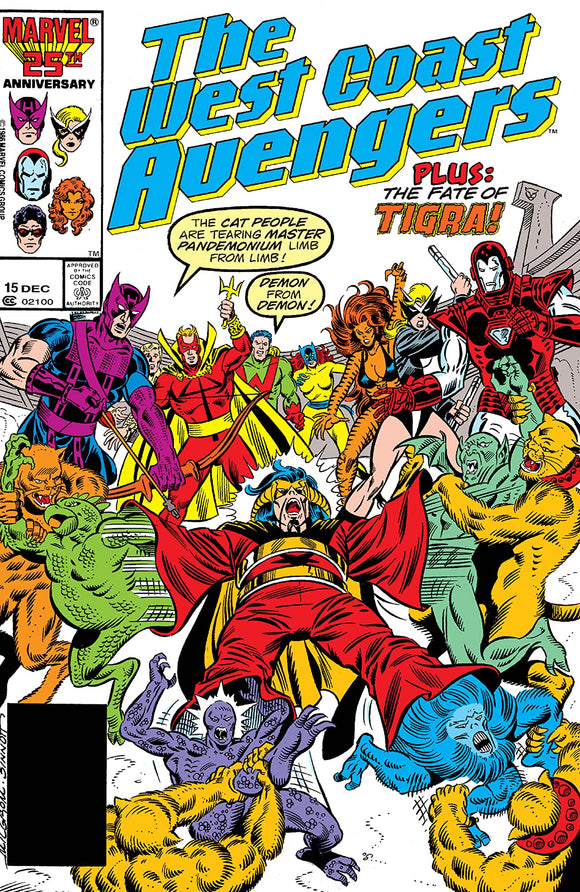 WEST COAST AVENGERS #15 (DIRECT)