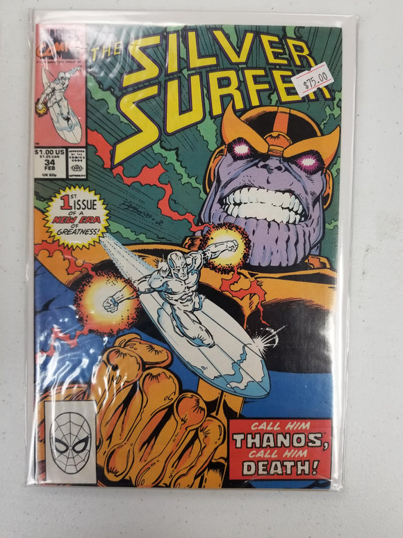 SILVER SURFER THE REBIRTH OF THANOS! 1-5