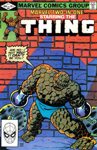 MARVEL TWO IN ONE #91 (DIRECT)