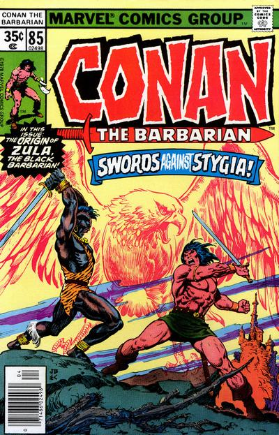 CONAN THE BARBARIAN #85