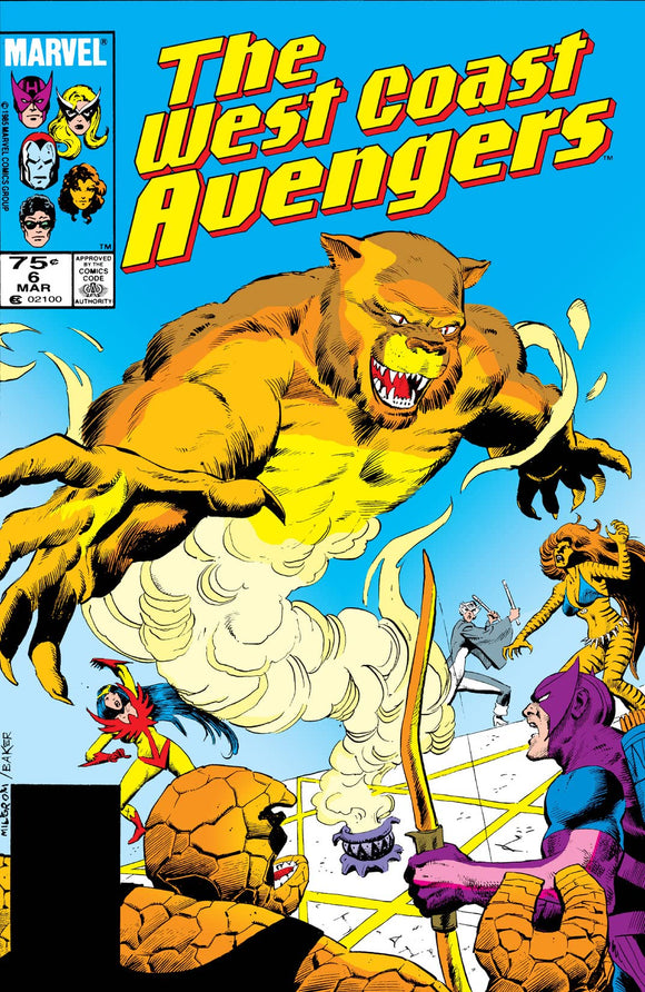 WEST COAST AVENGERS #6 (DIRECT)