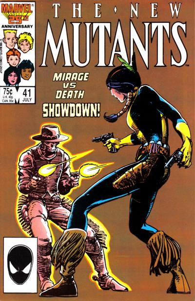 NEW MUTANTS #41 (DIRECT)