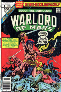 JOHN CARTER WARLORD OF MARS ANNUAL #01