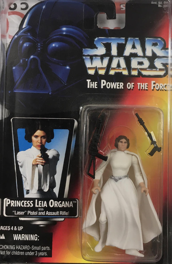 STAR WARS FIGURE / PRINCESS LEIA ORGANA (WITH LASER PISTOL AND ASSUALT RIFLE)
