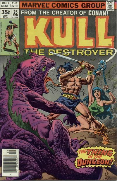 KULL THE DESTROYER #25