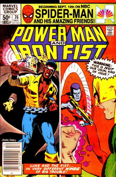 POWER MAN AND IRON FIST #76