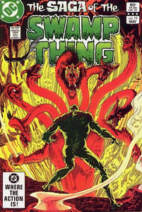 SAGA OF THE SWAMP THING #13