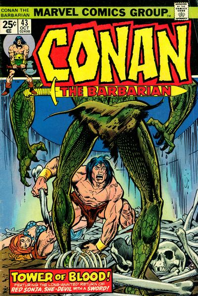 CONAN THE BARBARIAN #43