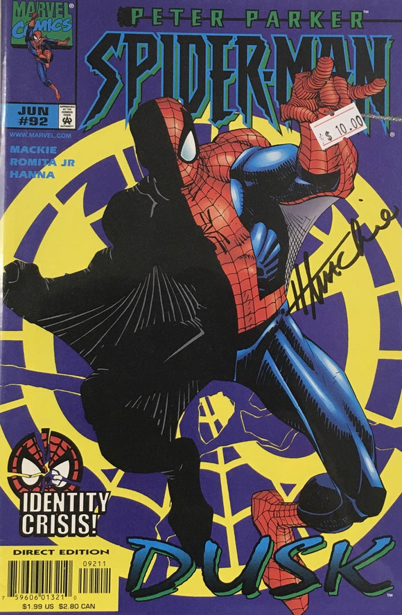 SPIDER MAN #92 (SIGNED BY HOWARD MACKIE)