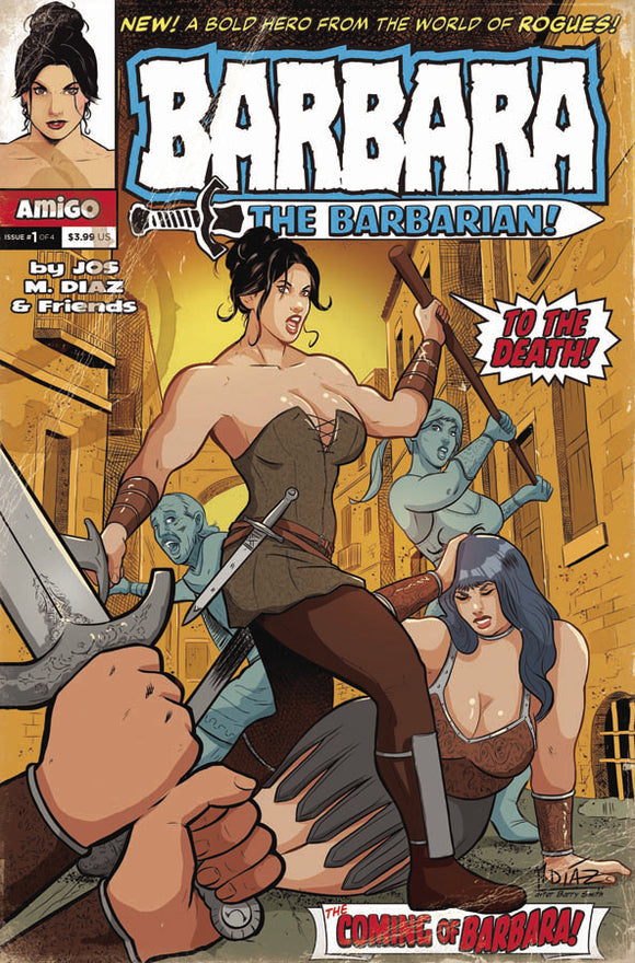 BARBARA THE BARBARIAN #1 (OF 3)