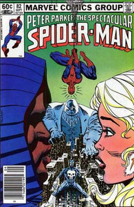 SPECTACULAR SPIDER MAN #82 (DIRECT)