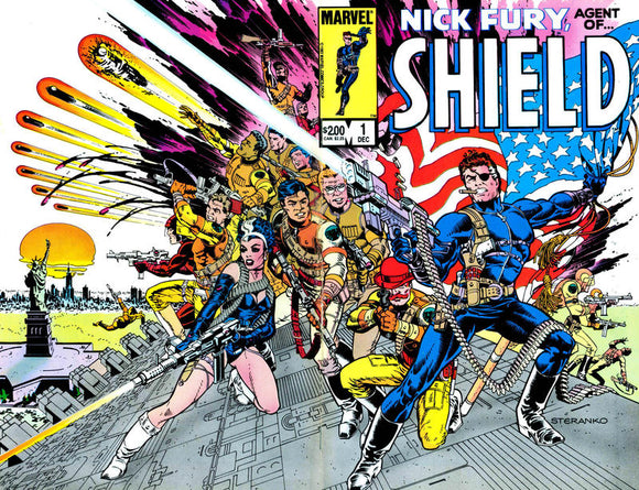 NICK FURY AGENT OF SHIELD #1 (1983)