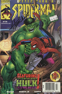PETER PARKER SPIDER MAN #14 (SIGNED BY HOWARD MACKIE)