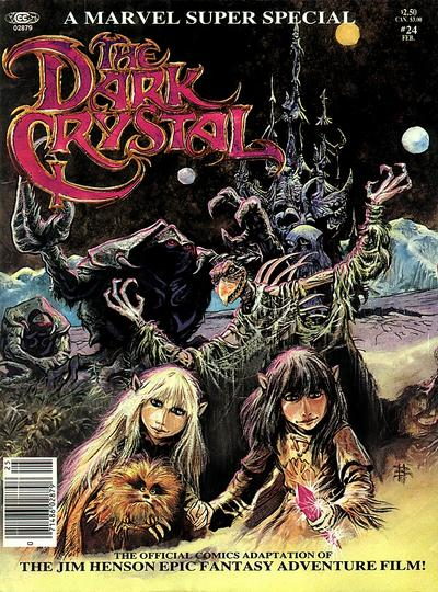MARVEL SUPER SPECIAL #24 THE DARK CRYSTAL