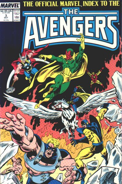 OFFICIAL MARVEL INDEX TO THE AVENGERS #03