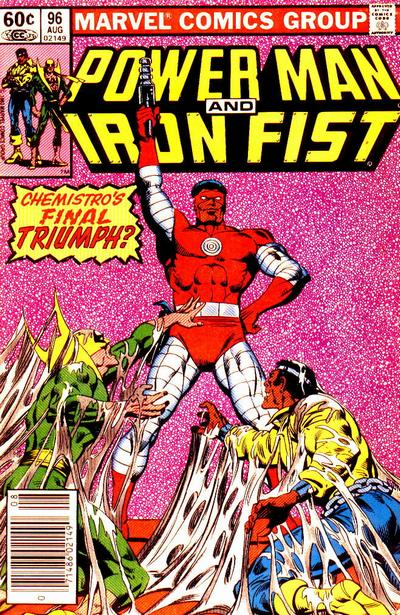 POWER MAN AND IRON FIST #96 (NEWSSTAND)