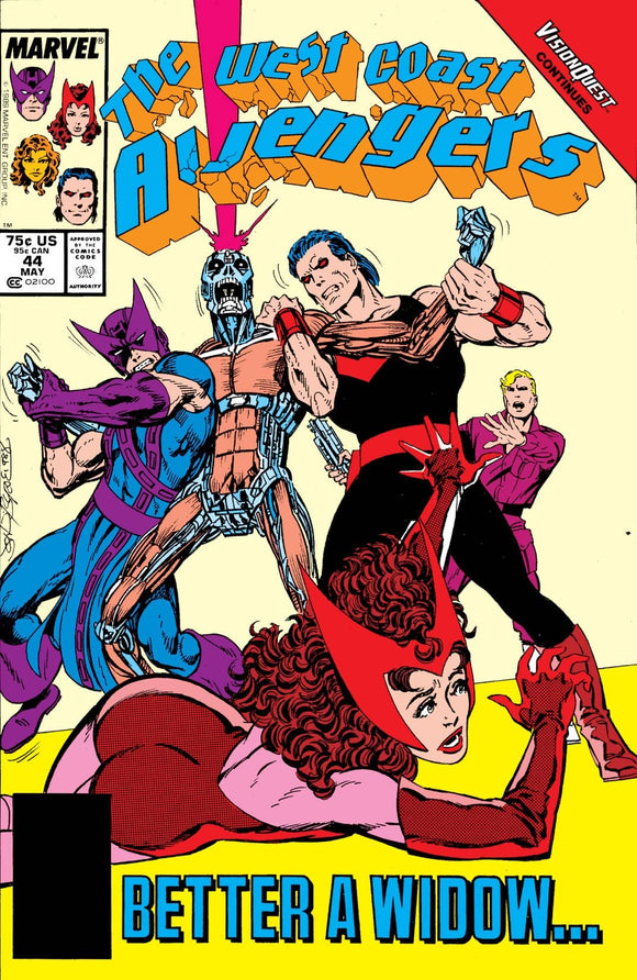WEST COAST AVENGERS #44 (DIRECT)