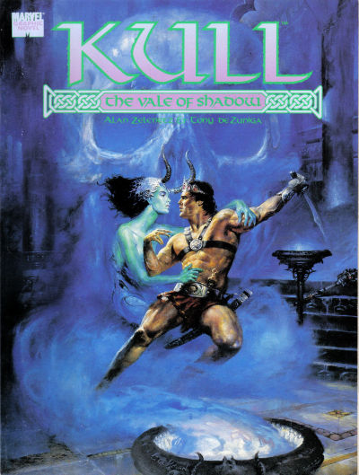MARVEL GRAPHIC NOVEL KULL THE VALE OF SHADOW