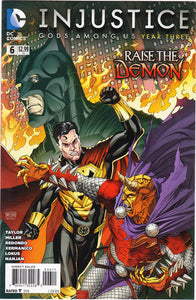 INJUSTICE GODS AMONG US YEAR THREE #06