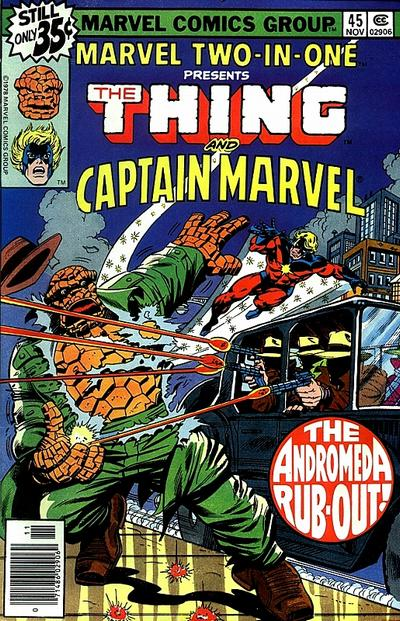MARVEL TWO IN ONE #45