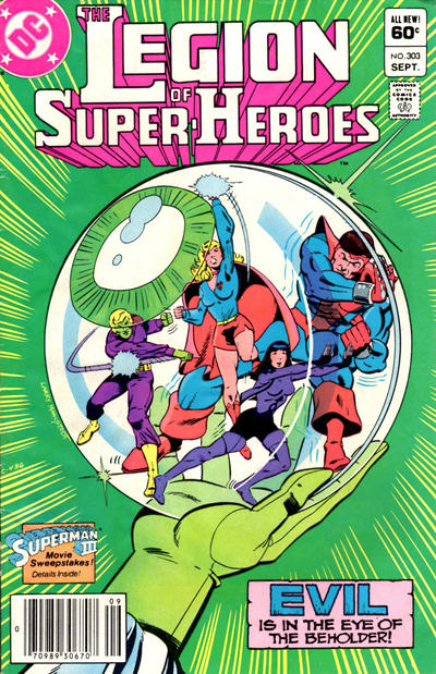 LEGION OF SUPER HEROES #303