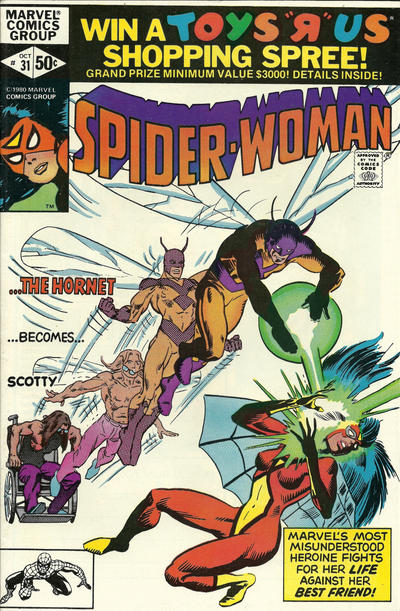 SPIDER WOMAN #31 (DIRECT)