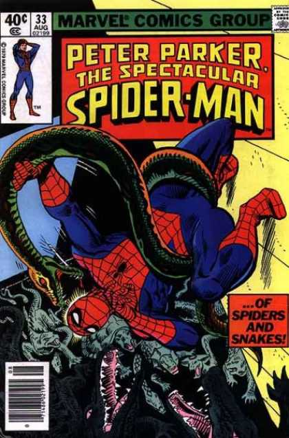 SPECTACULAR SPIDER MAN #33 (NEWSSTAND)
