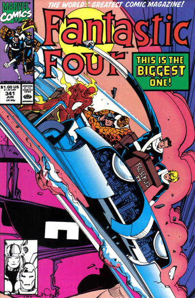 FANTASTIC FOUR 341 (DIRECT)