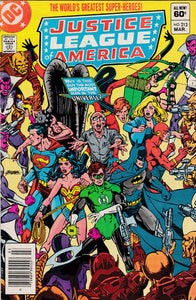 JUSTICE LEAGUE OF AMERICA #212 (NEWSSTAND)