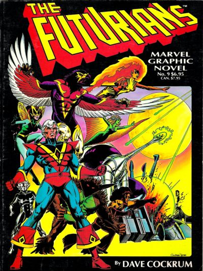 MARVEL GRAPHIC NOVEL #09 THE FUTURIANS
