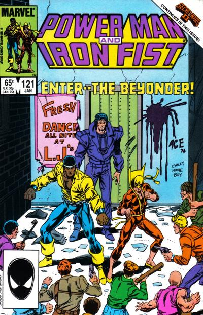 POWER MAN AND IRON FIST #121
