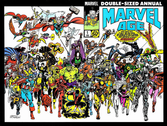 MARVEL AGE ANNUAL #01