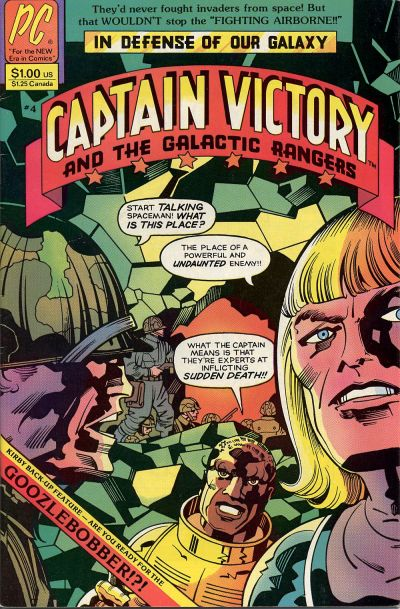 CAPTAIN VICTORY AND THE GALACTIC RANGERS #04